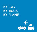 By Car by train by plane