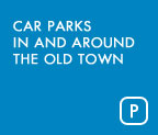 Car parks in and around the old town